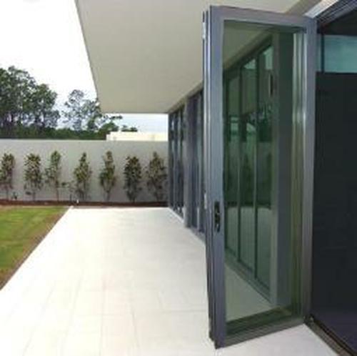 王品铝合金阳台折叠门图片
