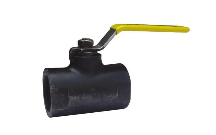 材质: 碳钢 连接方式: 螺纹式连接 通道: 直能式 结构形式: 固定球阀图片