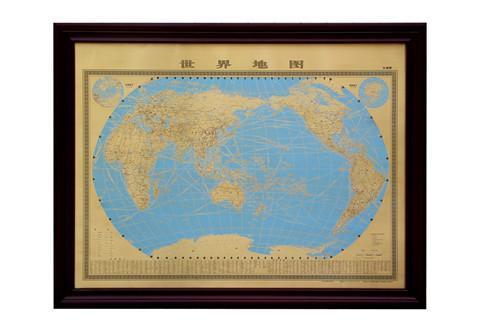 铜版画地图