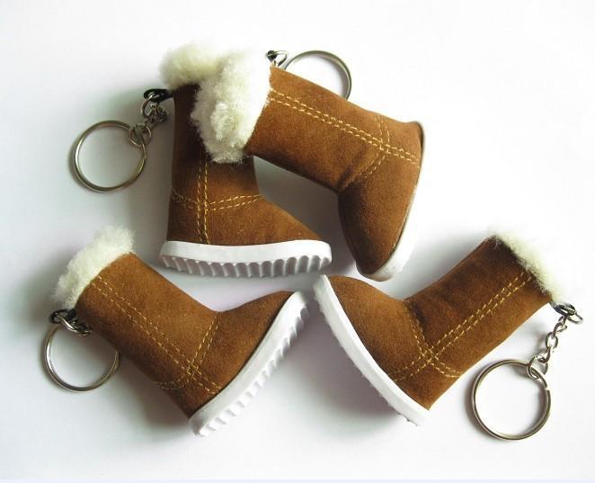 雪靴鞋子钥匙扣