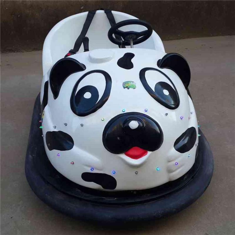 可爱灯光熊猫头像