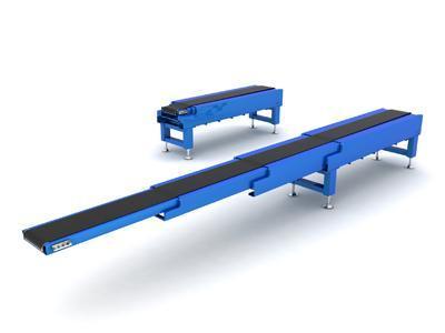 伸缩皮带机原理   伸缩皮带机是在普通的带式输送机上增加了伸缩图片