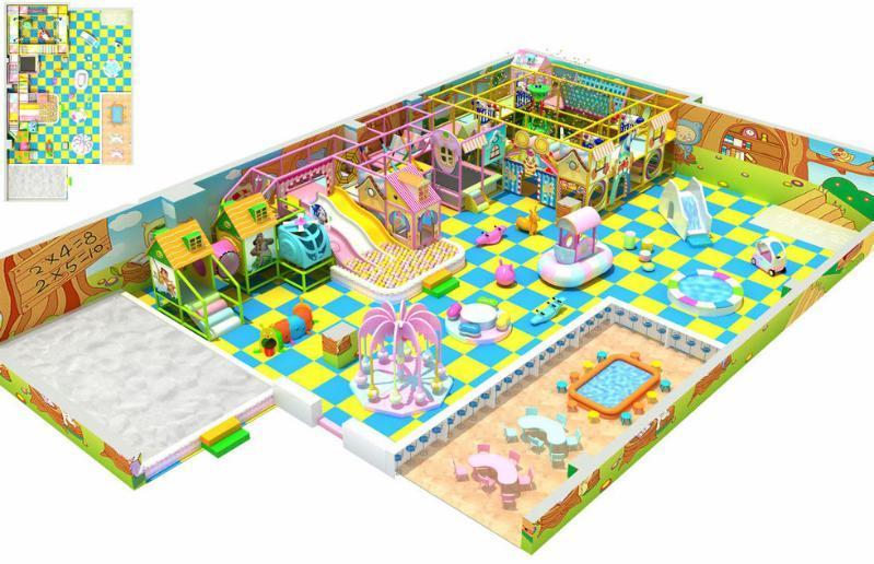 淘气堡 室内淘气堡 儿童乐园