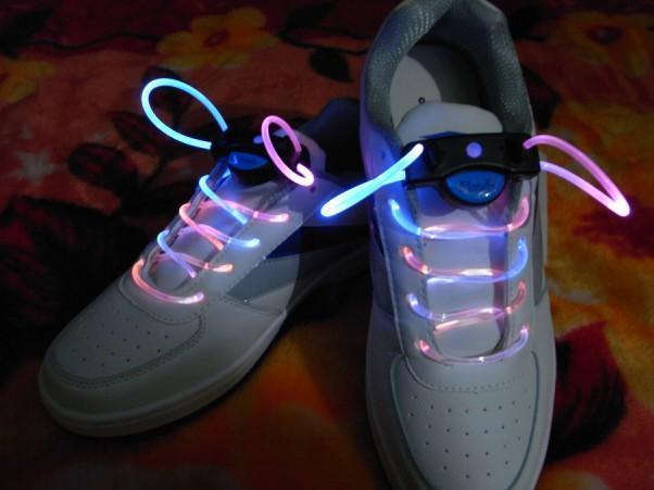 led光纤发光鞋带批发
