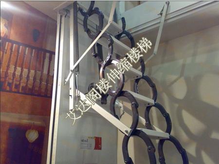 产品目录 建筑和装饰材料 梯类 楼梯及配件 03 阁楼伸缩楼梯设计图片