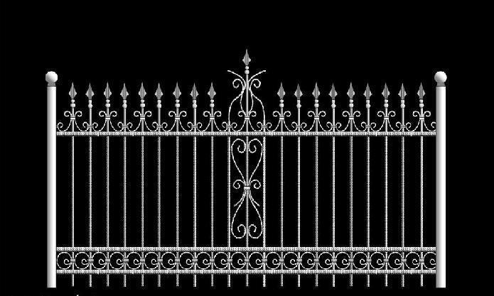 铁艺护栏【批发价格,厂家,图片,采购】-中国制造网,网
