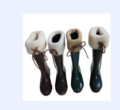 印花橡胶雨鞋