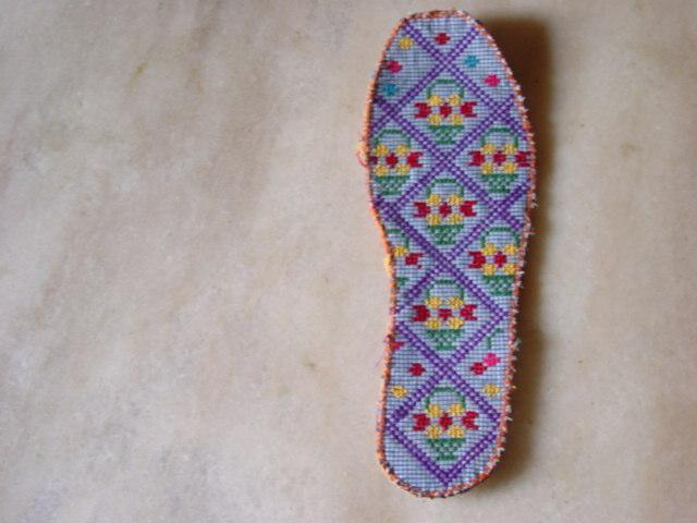 简单手工绣花鞋垫图案 手工绣花鞋垫图案大全 手工绣花鞋垫图案图片