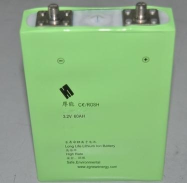 正国新能源60ah锂电池图片