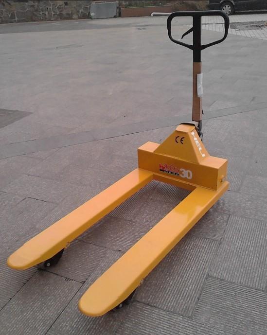 5吨手动液压车叉车图片