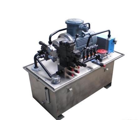 数控机床液压系统图片