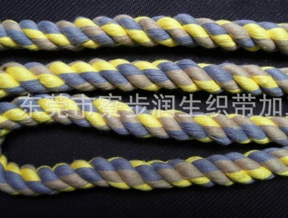 2根编圆线绳的方法图解