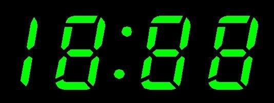 ����n�_vfd汽车时钟显示屏(vfd18-0201n)
