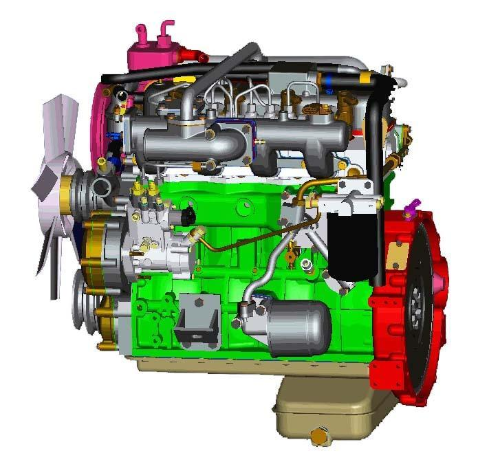 锡柴w系列国Ⅳ柴油发动机图片