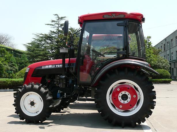 五征35马力拖拉机_燃料: 汽油/柴油 类型: 轮式拖拉机 规格: 454 504 554 马力 \