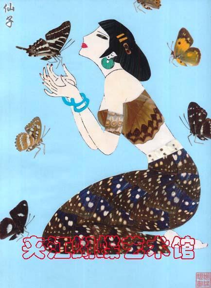 蝴蝶翅画-4图片