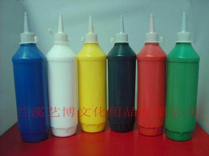 瓶装丙烯颜料