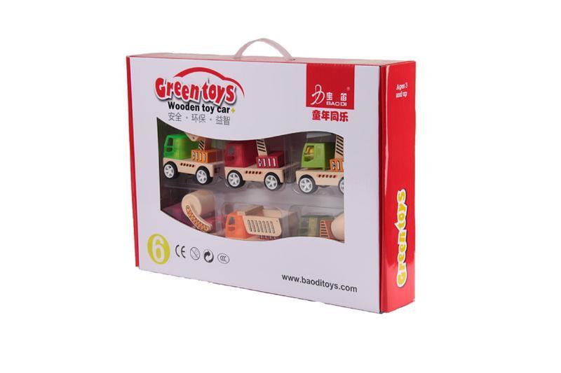 模型彩盒包装-环保拼装玩具