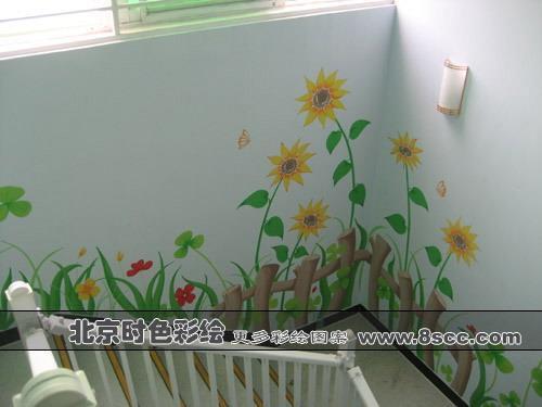 卡通手绘墙