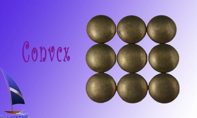 常见的半圆形,星形,三角,长方形,马眼,椭圆以外还有太阳花,蛛网,梅花