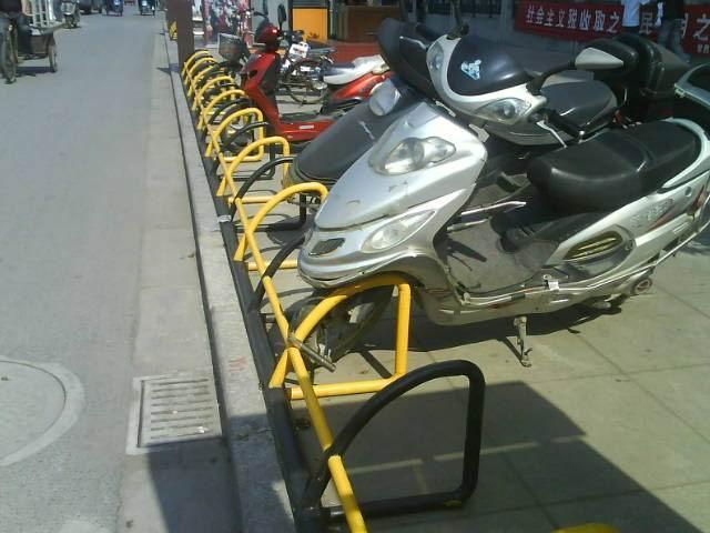摩托车停放架_摩托车电瓶车停放架(DY-3000)