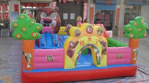 熊出没蹦蹦床儿童充气城堡
