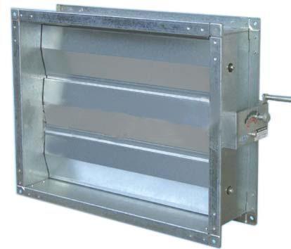 镀锌板风量调节阀图片