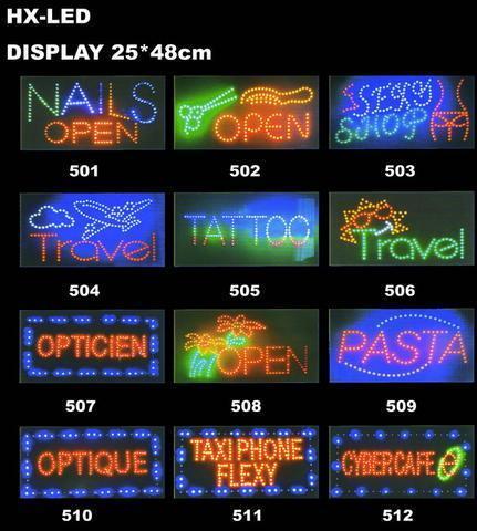 led广告牌图片