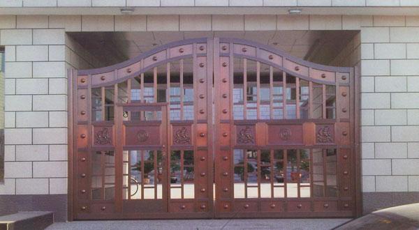 沈阳高质量铜门,营口别墅庭院门