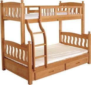 红榉木上下实木儿童床(8220)