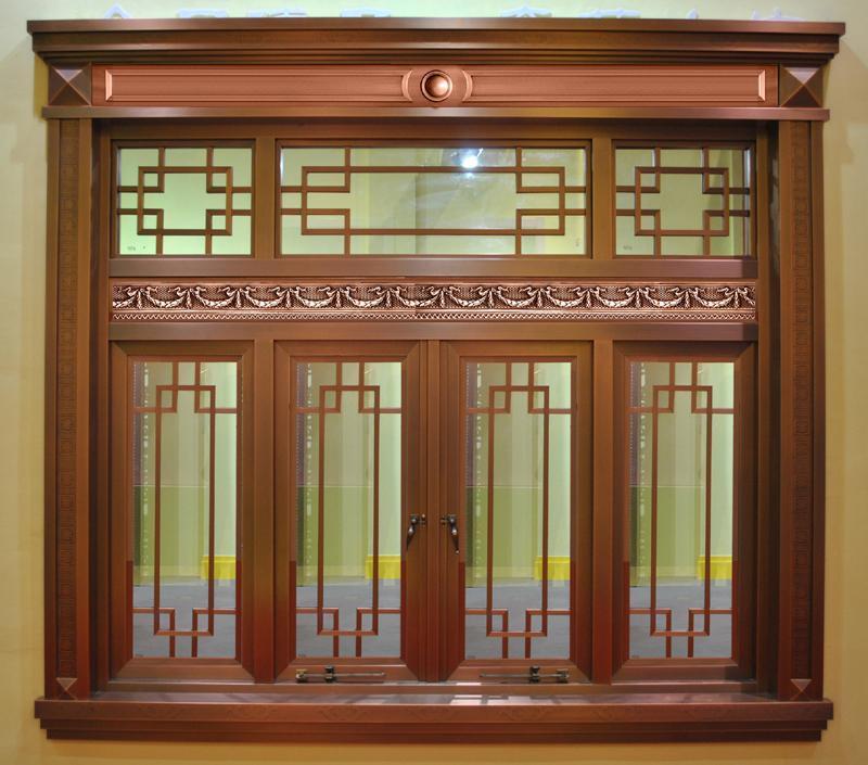 不雅美女裸囹�a_中式别墅铜窗制作与安装