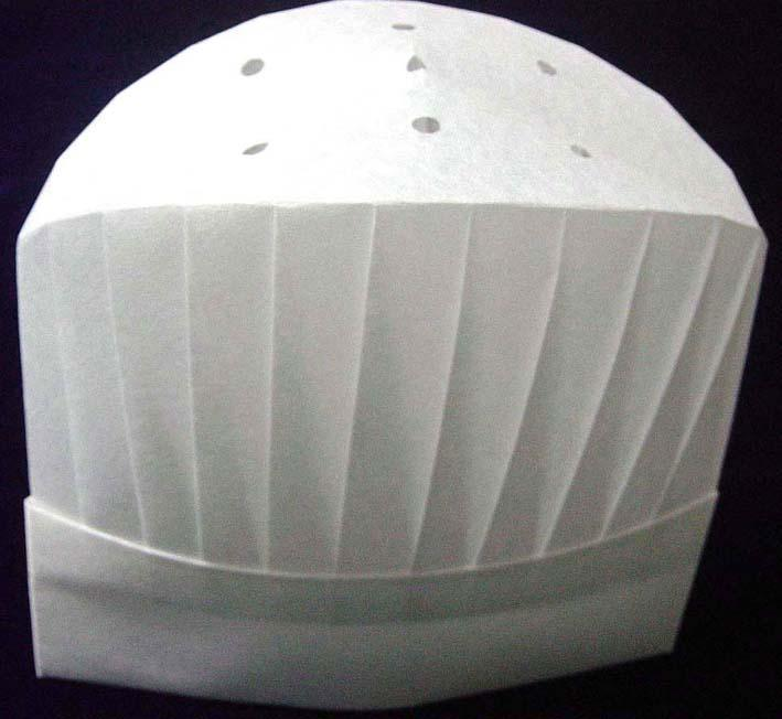 26cm厨师帽缝制设备公司上海图片