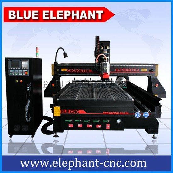 蓝象1530三维立体高精度木工雕刻机品牌,立体佛像雕刻机,排式自动换刀,德国西门子控制.