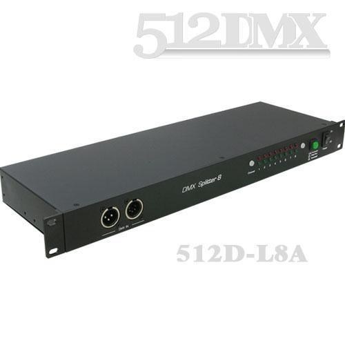 8路DMX信号放大器 D L8A图片