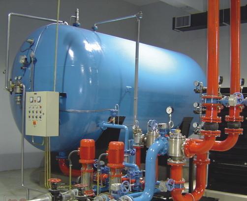 隔膜式自动气压给水设备广泛应用于住宅,办公,科研,商业,饭店,医院,影图片
