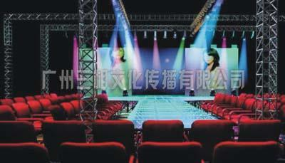 新品发布会舞台背景设计搭建图片