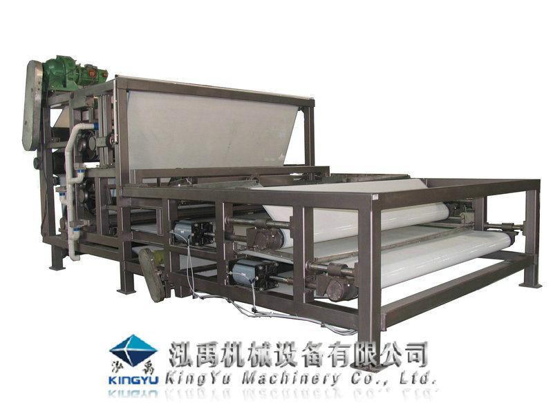 电镀污泥脱水处理带式压滤机(khn)