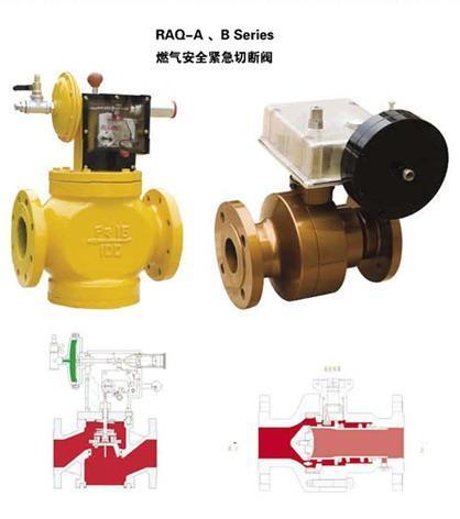 燃气安全紧急切断阀(raq-a,b系列)图片