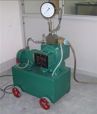 ④试压泵以外的管路也可以安装截止阀和放水阀,与容器隔断,使被图片