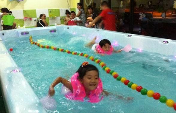 亚克力大型可拼装儿童游泳池