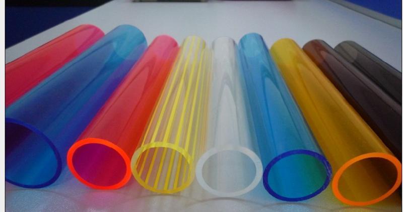 彩色有机玻璃管图片