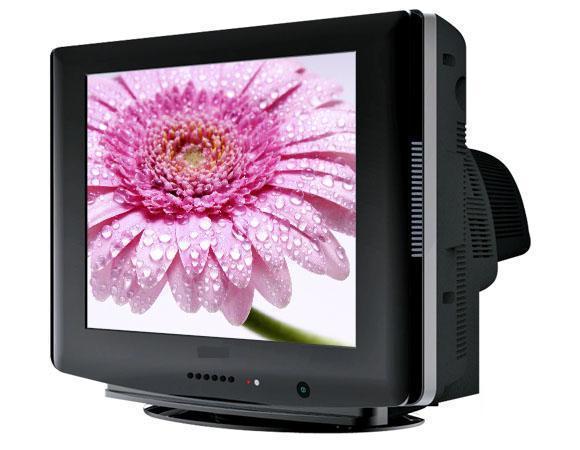 14寸普屏crt彩色电视机