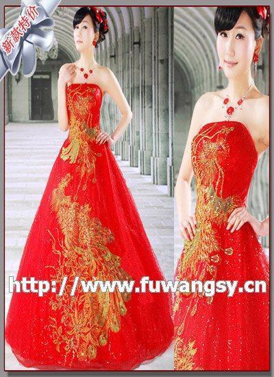 服装饰件 婚纱和礼服
