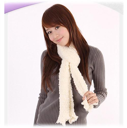 香芋紫围巾搭配衣服