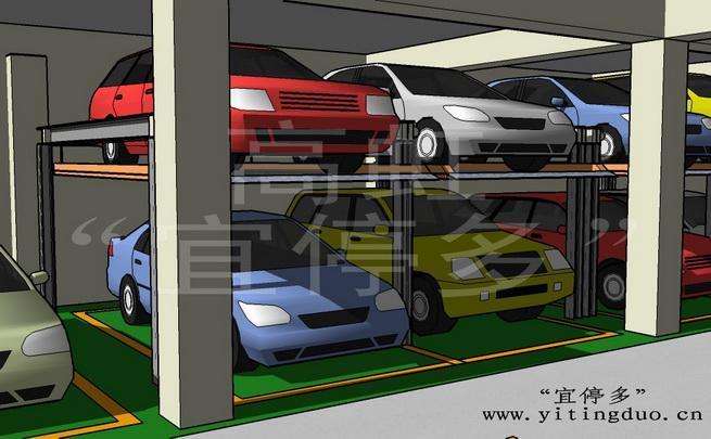 立体停车设备(独立升降式-h型)