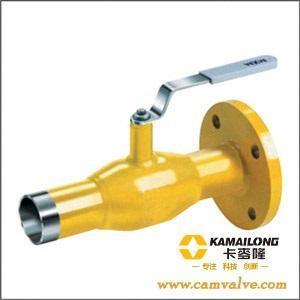 卡麦隆全焊接球阀,由于阀门的整体结构采用全焊接的工艺结构,使图片