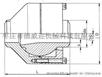 DKG 球式旋转管接头(西德福标准)