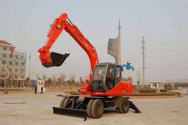 轮式液压挖掘机(120)图片
