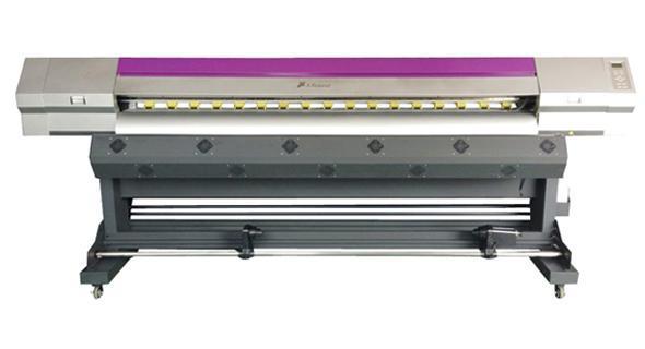 鑫罗兰2200单双头高速稳定压电写真机