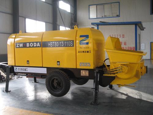 液压混凝土输送泵(hbt系列)图片